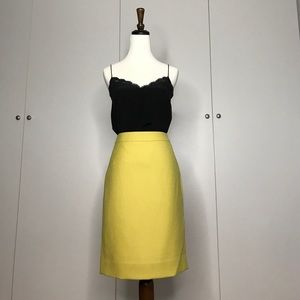 Dresses & Skirts - J. Crew No. 2 pencil skirt double-serge wool
